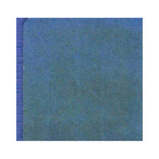 12 Absorbent Drink Coasters Plain Solid Colors Reusable - Blue