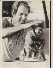 Golfer Tom Weiskopf With Peter Jackson Trophy in Canada Press Photo