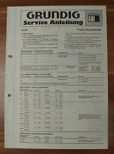 Radio yacht-Boy 300 400 Grundig service MANUAL notice de service