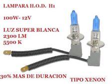 HOD - LAMPE H1-100W-SUPER WEIß TIPO XENON - 5500K-12V- GRÖßERE DAUER
