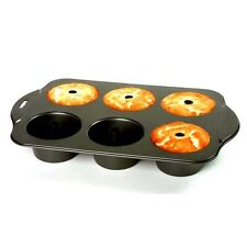 NORPRO NONSTICK MINI ANGEL FOOD CAKE PAN Mini Bundt Cakes Baking Tray  NP3975 N