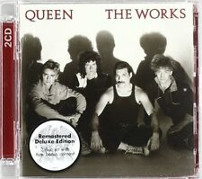 QUEEN The Works 2 x CD DELUXE EDITION 2011 (15 Tracks) Remastered NEW & SEALED