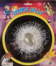 Window Cling Joking Jelly Stone In Broken Car Window Joke Gag Gift Prank