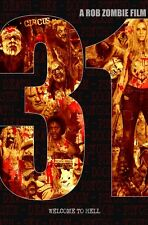 31 movie poster Rob Zombie poster - 11 x 17 inches - Horror