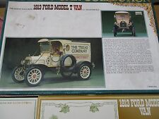 1913 FORD MODEL T DELIVERY VAN BANDAI 504274 1:16 KIT