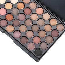 40 Color Matte Eyeshadow Palette Nude Earth Colors Glitter Earth Eye Shadow E40#