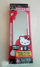 Sanrio HELLO KITTY Room Mirror face type Mirror KT392 Car Accessory + Tracking