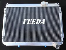 3 ROW ALUMINUM RADIATOR FOR NISSAN 300ZX COUPE/BASE/TURBO 1984-1989 MANUAL