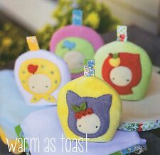 WARM AS TOAST Egg Cosy's & Napkins - Sewing Craft PATTERN - Soft Toy Felt