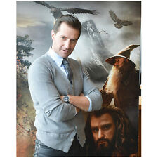 The Hobbit Richard Armitage as Thorin Arms Crossed Smile 8 x 10 Inch Photo