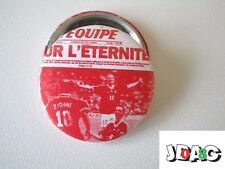 BADGE BUTTON PIN L'EQUIPE FOOTBALL EDITION LIMITEE 3 CM