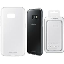Genuine Samsung CLEAR CASE GALAXY A3 2017 SM 320F mobile cell phone back cover