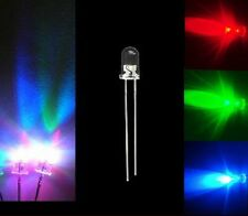 Lot 100 PCS 5MM RGB Red Green Blue Slow Changing Color Flash LED Lamps Rainbow
