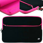 """15"""" 15.4"""" 15.6 inch Ultrabook Laptop Notebook Carrying Bag Sleeve Case Pink"""