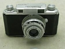 Konica (I) w/ Hexar 50mm f3.5 1948 Rangefinder MADE IN OCCUPIED JAPAN  ID 7254