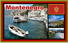 MONTENEGRO - SOUVENIR NOVELTY FRIDGE MAGNET - BRAND NEW - GIFT