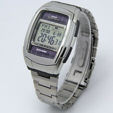 Men's часы CASIO DB-E30D-1 Quartz (Solar Powered) Alarm Digital 12-24Hour Dial