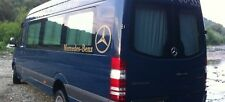 Mercedes New Sprinter VW Crafter curtains set for 2 side windows grey color.