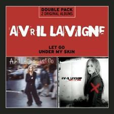 Avril LAVIGNE-let go/Under My Skin * 2 CD * NUOVO *