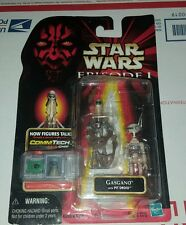 STAR WARS EPISODE 1 GASGANO with PIT DROID ACTION FIGURE (NEW)