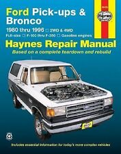 1980-1996 Haynes Ford Pick-Ups & Bronco Repair Manual