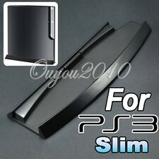 Black Console Vertical Stand Dock Base Holder for Sony Playstation 3 PS3 Slim