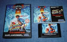 * STREET FIGHTER II 2 - SPECIAL CHAMPION EDITION * SEGA MEGA DRIVE - PAL VERSION