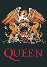 Queen Crest large fabric poster / flag   1100mm x 750mm (hr)