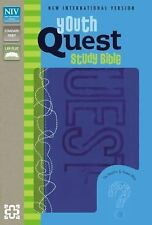 NIV Youth Quest Study Bible: The Question and Answer Bible, Italian Duo-Tone,