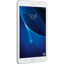 "Samsung Galaxy Tab A 7"" Tablet w/ WiFi, 8GB, 1.5GB RAM- White, SM-T280NZWAX"