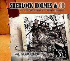 Sherlock Holmes & Co - Das Geisterhaus (und Weitere Abenteuer) - CD NEU