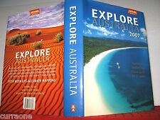 EXPLORE AUSTRALIA 2007  HCDJ  car travel guide HOLIDAYS