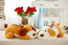 Soft Cute Dog Puppy Tissue Box Cover Case Toy Doll Home Organize Christmas Gift
