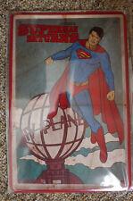 Superman Return Tin Metal Sign Painted Poster Comics Book Superhero Wall Decor