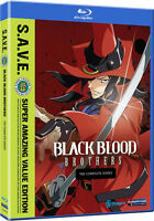 Black Blood Brothers . The Complete Series . Anime . 2 Blu-ray . NEU . OVP
