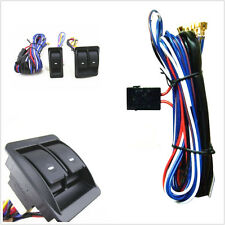 12V 12 Volt Car Electric Power Window Master Control Switch With Wiring Harness
