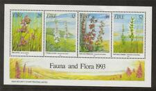 IRELAND 1993 MNH MS875 FAUNA & FLORA - IRISH ORCHIDS MINISHEET