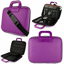 "Purple PU Leather Cady 10"" Tablet Bag Case Pouch for New iPad 2 3 4 / iPad Air"