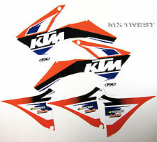 Factory Effex EVO 13 Graphics Shrouds Air Box KTM EXC 2012 2013 NEW
