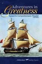 A Beka  Adventures in Greatness Speed and Comp Reader Fourth Edition- 6th Grade