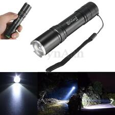 Super Bright  5000LM XM-L T6 LED Zoomable Zoom 18650 Flashlight Focus Torch Lamp