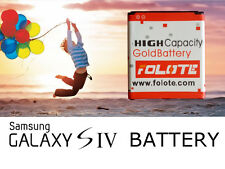 NEW HIGH CAPACITY GOLD BATTERY  FOR SAMSUNG GALAXY S4