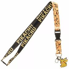 Pokemon Pikachu Lanyard With Charm Officially Licensed Neck Strap ID Holder