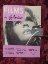 FILMS in REVIEW May 1969 41 Academy Awards Ali Macgraw Vincent Price John Halas