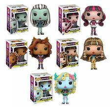 Funko Pop!  Monster High Set of 5 In Stock Frankie Stein Clawdeen Wolf