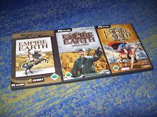 Empire Earth II 2 & Addon the Art of Supremacy = Gold PC alemán y más
