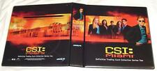CSI: Miami Series 2 New Binder with 10 Ultra Pro Silver Pocket Pages Added Free