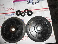 Kawasaki 440 INVADER-INTRUDER snowgo: 2 rear axle WHEELS & BEARINGS 8000 #1