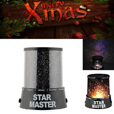 Xmas Gift Home Ceiling Wall Star Projector Lamp Starry Night Sky Night Light USA