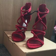 Limited Edition Zara Red/maroon Sandals #Amrezy
